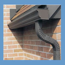 Advanced raingutters sheet metal in fresno and selma services for Painting aluminum gutters